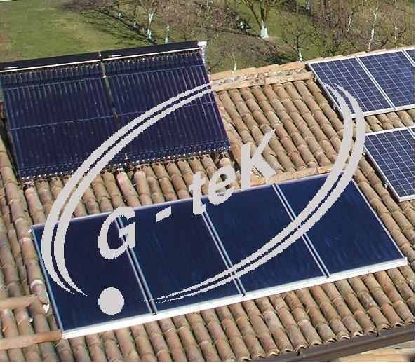 Impianti solari termici for Piani di cabina solare